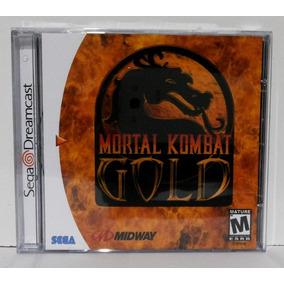 Mortal Kombat Gold - Jogo Sega Dreamcast - Game Luta Mk