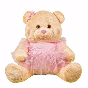 Kit 2 Ursas Bailarina Infantil De Pelúcia Plush Para Meninas