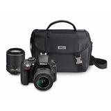 Nikon D3300 Cámara Dslr Con Lentes Vr Ii De 18-55 Mm Y 55