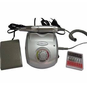 5 Lixas Elétrica Nail Master 20.000 Rpm - Bivolt Cor Silver