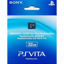 Cartão De Memória Psvita 32 Gb Memory Card Frete R$ 10