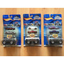 Set 3 Hot Wheels Monster Truck Maker 2001 Corvette Cobra .