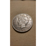 Monedas Antiguas Dollar Peace 1922 D Plata