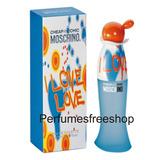Moschino I Love Love Perfume Orig X100ml Perfumesfreeshop!!!