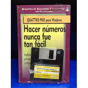 Quattro Pro Para Windows+ Diskette 3 1/2
