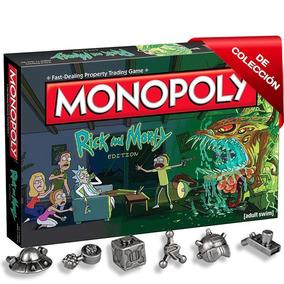 Monopoly Rick Y Morty - Edición De Colección Original
