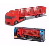 Caminhão De Boi Voyager Boiadeiro Sortido - Roma Brinquedos