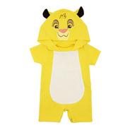 Pañalero Largo Disney Simba Rey León Ropa Bebé Disfraz 5017