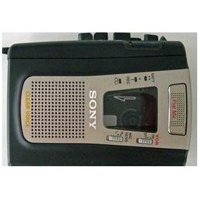 Sony Tcm459v Reproductor / Grabadora De Cassette Portátil