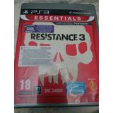 Playstation3 Ps3 Resistance3 Fisico Con Manual Envios