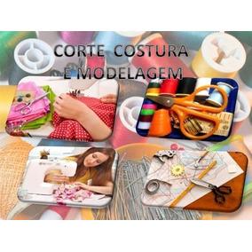 Coleção 75 Livros Apostilas Moldes Corte Costura E Modelagem