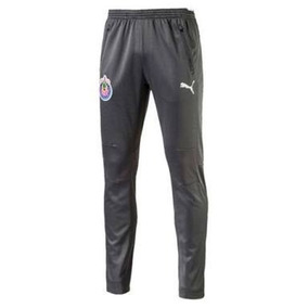 Pants Entubado Chivas Puma 100%original Training 2018 Gris