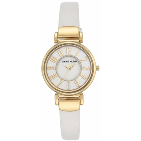 Reloj Anne Klein Ak2156mpwt Blanco Dama Original Envío Grats
