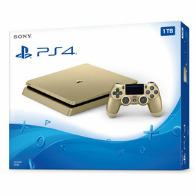Playstation Ps4 Dorada Gold 1tb