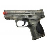Pistola Smith & Wesson Airsoft 9c + 8500 Bbs De 6 Mm
