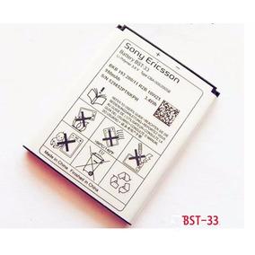 Baterias Pila Bst-33 Sony Ericson Nuevo Y Original
