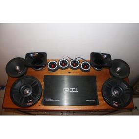 Sonido Para Carro / Vehículo - Lanzar Pro Y Mtx Combo
