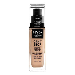 Base Maquillaje Liquida Can't Stop Won't Stop, Nyx, 30ml
