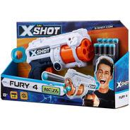 Pistola Lanza Dardos Rapid Fire X-shot Bug Attack Zuru Nerf