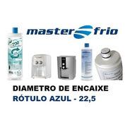 Filtro Refil Masterfrio Purificador Rotulo Azul Encaixe 22,5