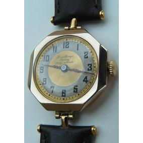 Reloj Rolex Antiguo Oro Solido Suizo Cuerda Año1926