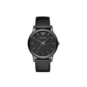 Reloj Original Emporio Armani Hombre Ar1732 Clásico Negro