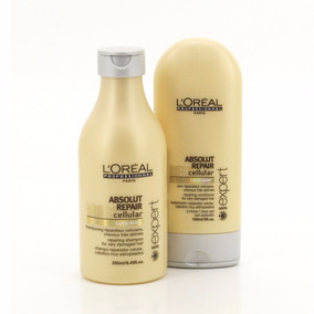 Loreal Absolut Repair Cellular Shamp250+ Cond150 Lactic Acid
