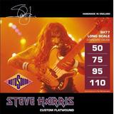 Cuerdas Rotosound Sh77 Steve Harris Flatwound Bajo 50-110