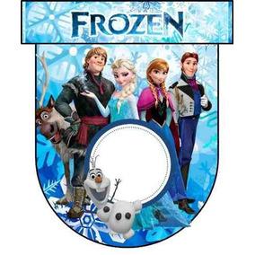 Kit Imprimible Para Tu Fiesta De Frozen Modelo 3