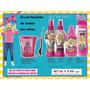 Set Barbie X5 Avon Colonia+shampo+desenredant+cr.peinar+taza