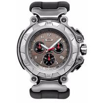 Relógio Oakley Crankcase Sku10-233 Stainless Steel 2008 Grey