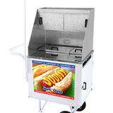Carrinho De Cachorro Quente (hot Dog) - Rodas Maciças Dsm005