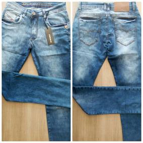 Calça Jeans Masculina Diesel Lycra 1456 Pronta Entrega