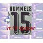 Estampado Borussia Dortmund # 15 Hummels , Color Negro 15-16