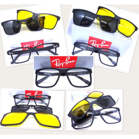 0e56a2281d840 Armação De Oculos Todo Preto - Óculos no Mercado Livre Brasil