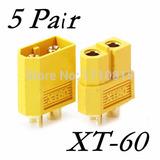 Conectores Xt60 5 Pares