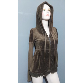 Sudadera Juicy Couture Cafe Chica Velour Hermosa