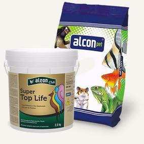 Ração Alimento Pássaro Alcon Club Super Top Life Balde 2.5kg