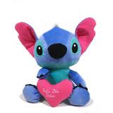 Peluche De Stitch Gigante 60cm Con Corazón Envío Gratis