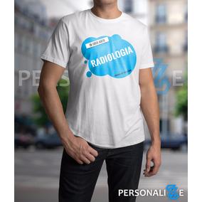 Camiseta Masculina Curso De Radiologia Azul