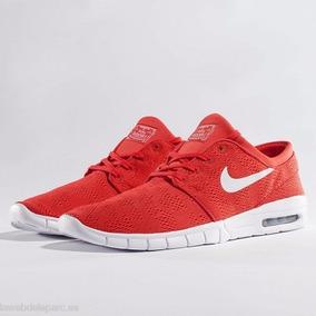 Nike Sb Stefan Janoski Max Roja Original (hombre)