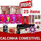 Kit Sex Chop 25u Calcinha Comestível Revenda Sexy
