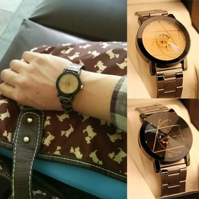 Reloj Segundero De Engrane Para Mujer