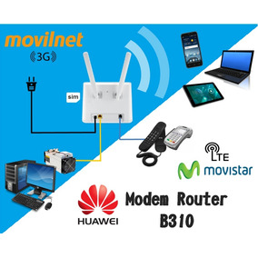 Modem Router Multibam Y Telular Movistar