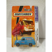 Matchbox Camioneta Ford F-100 Panel Delivery Ice Cream Azul