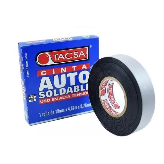 Cinta Autosoldable Tacsa 19mm X 0,76mm X 4,57mt.. Anri Tv
