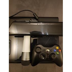 Vendo Xbox 360 Com Hd 500gb Kinect Microfone Xbox Ac Troca
