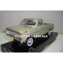 Ford F-100 Pickup 1969 - Clasica Argentina V.- Motormax 1/24
