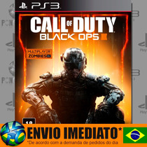 Call Of Duty Black Ops Iii 3 Bo3 Ps3 Psn Português Dublado