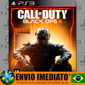 Call Of Duty Black Ops Iii 3 Bo3 Ps3 Psn Português Dublado